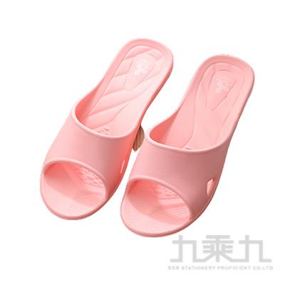 舒適便利室內拖鞋-粉M 7926