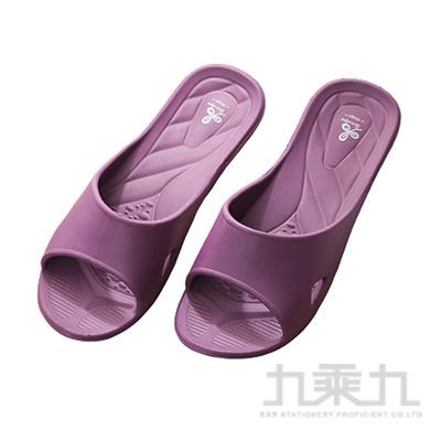 舒適便利室內拖鞋-紫L 7926