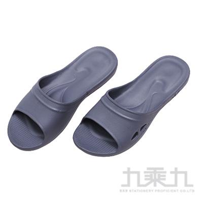 嚴選Q彈家居拖鞋-灰XL 86082
