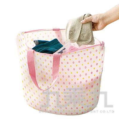 多用途粉彩洗衣籃(L)W-460