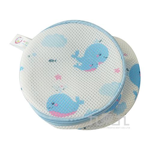 藍鯨魚三明治內衣洗衣袋(17*17) HT5164