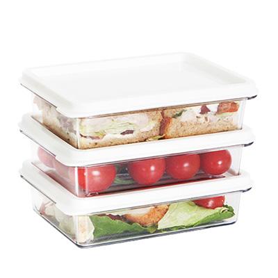 SYSTEM廚房冰箱收納盒300ml(3入) 03092