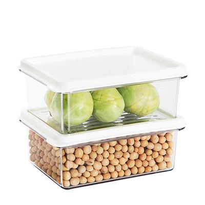 SYSTEM廚房冰箱收納盒450ml(2入) 03093