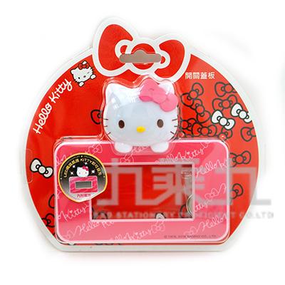 Hello Kitty造型LED開關蓋板-大孔 MT-F445KT-B