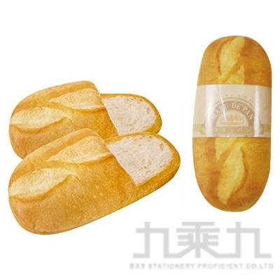 KCO 法國麵包造型室內拖鞋 PAN-SP3-FP