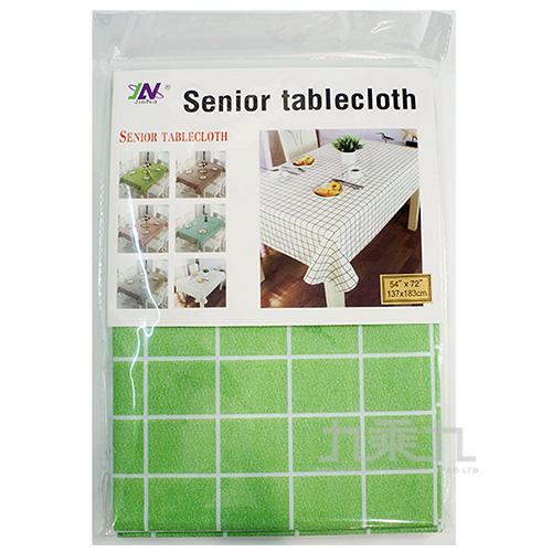 格紋加厚PVC桌巾(137*183) LF0314