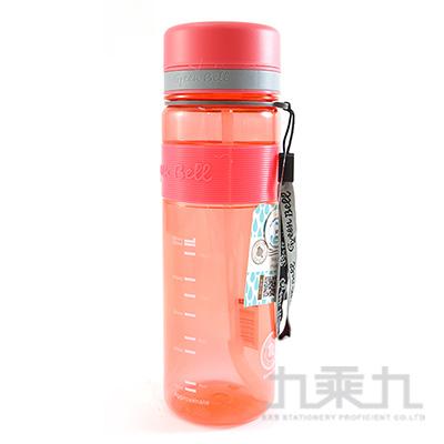 綠貝直身吸管太空壺(紅)-800ml
