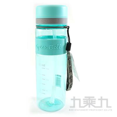 綠貝直身吸管太空壺(綠)-800ml G20-800G