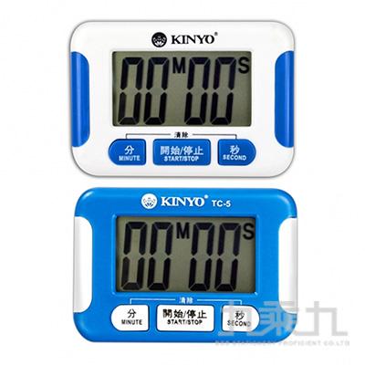 KINYO 電子式正倒數計時器 TC-5(顏色隨機出貨)