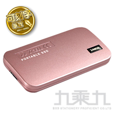 冠元 TPS100 240GB TYPE-C行動固態硬碟(可刻字)