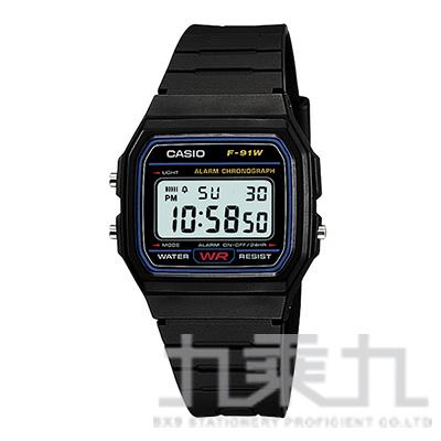 CASIO Digital手錶 F-91W