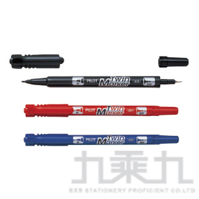 PILOT 雙頭麥克筆(細) MEF-12EU
