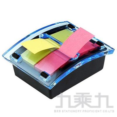 3M 利貼抽取式便條台(藍) DS123-2