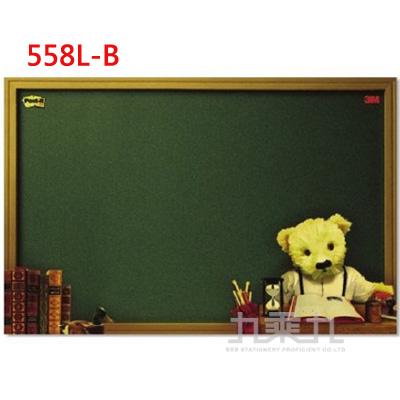 3M 可再貼利貼佈告欄558L-B-熊﹙大﹚