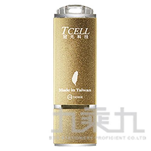 TCELL 冠元 USB2.0 隨身碟-國旗碟(香檳金限定版) ( 16GB / 32GB / 64GB )