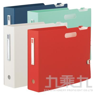 LIHIT 雜誌盒型風琴夾 F-7691