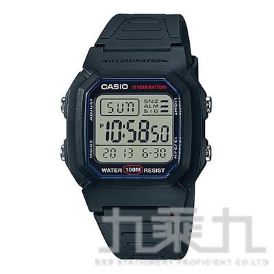 CASIO Digital手錶 W-800H