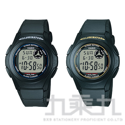 CASIO Analog-Digital手錶 F-200W