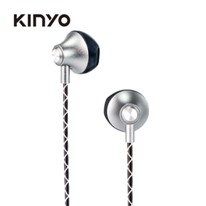 KINYO IPEM-897GY立體聲硬式耳麥