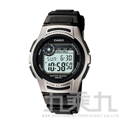 CASIO Digital手錶 W-213