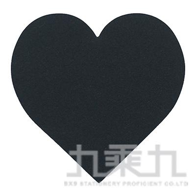 PILOT 黑色便利貼-愛心 FB01S-25S-HA