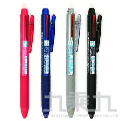 PILOT 二色按鍵魔擦筆(藍紅) 0.5 LKFB-40EF