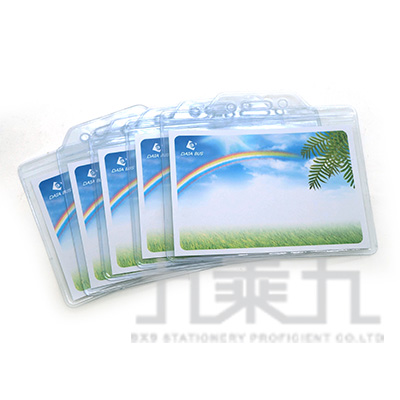 誌揚 2號硬式識別證套5入 ID-812-5