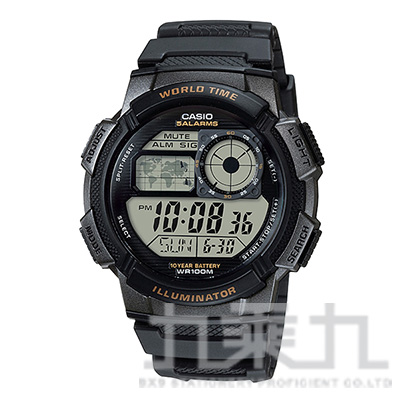 CASIO Digital手錶 AE-1000W