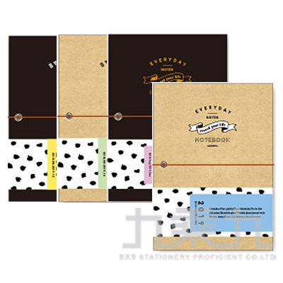 2019 32K跨年紙書衣雙色手帳-簡單生活