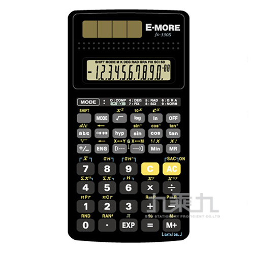 E-MORE 國家考試專用計算機 fx-330s