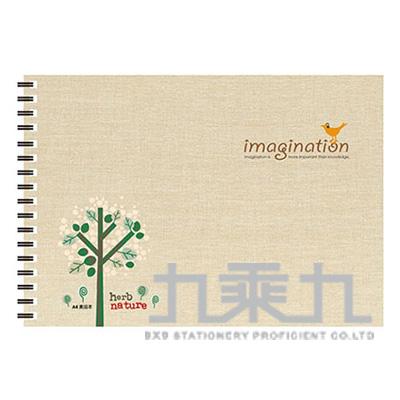 IMAGINATTION A4素描本