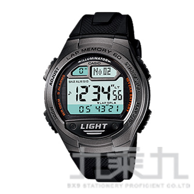 CASIO Digital手錶 W-734