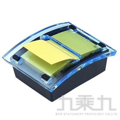 3M 利貼抽取式便條台(藍) DS123-1