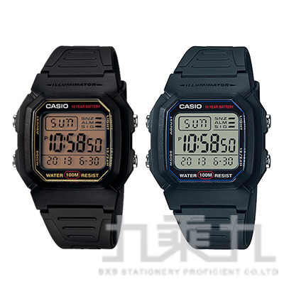CASIO Digital手錶 W-800H