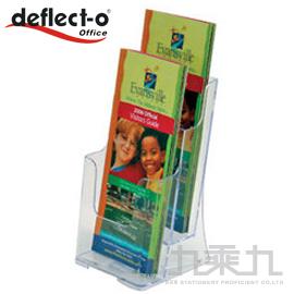 迪多 deflect-o 兩層高背目錄架-1/3A4 77862