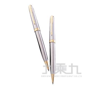 商籟 鋼桿金夾原子筆