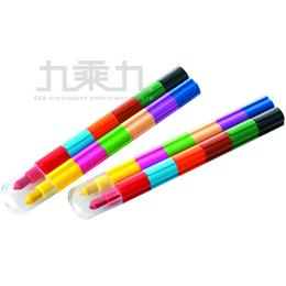 可擦式胖胖積木色筆