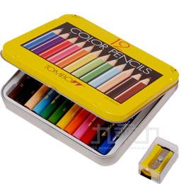 TOMBOW 12色鐵盒迷你色鉛筆﹙附削筆器﹚