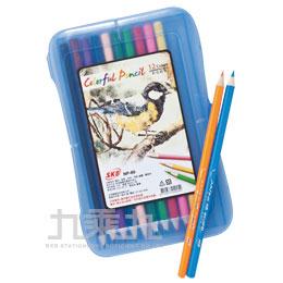 SKB 12色 彩色鉛筆 NP-80(顏色隨機)