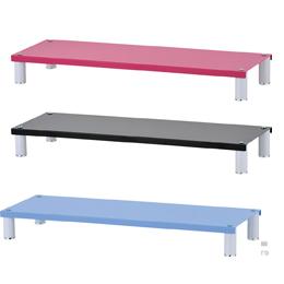 IKLOO 宜酷屋 桌上型鍵盤置物架 黑/粉藍/桃粉紅