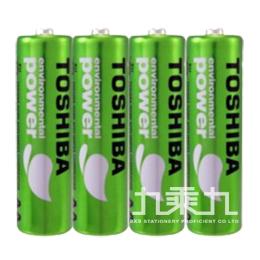 日本東芝綠色無鉛電池 3號(4入)