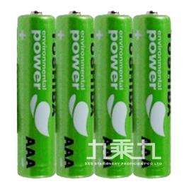 日本東芝綠色無鉛電池 4號(4入)