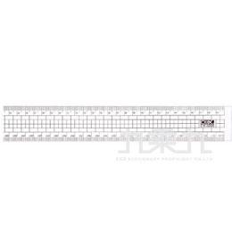 三燕 COX50cm彩色直尺 CR5000