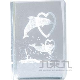 3*3水晶擺飾-海豚 7984