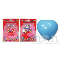 台灣製-5吋心形氣球