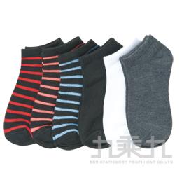 素色船形襪﹙黑﹚
