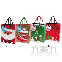 耶誕手提紙袋﹙小小﹚ GB-05013-7 -隨機出貨