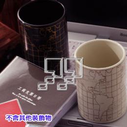 台灣聯合 地圖筆筒 (中) IP05