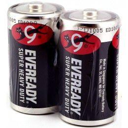 永備電池﹙黑﹚1號 2入