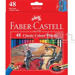 輝柏-48色油性色鉛筆-戰馬圖案 115858
